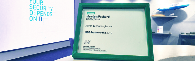 We are a Partner of the Year 2019 for HPE