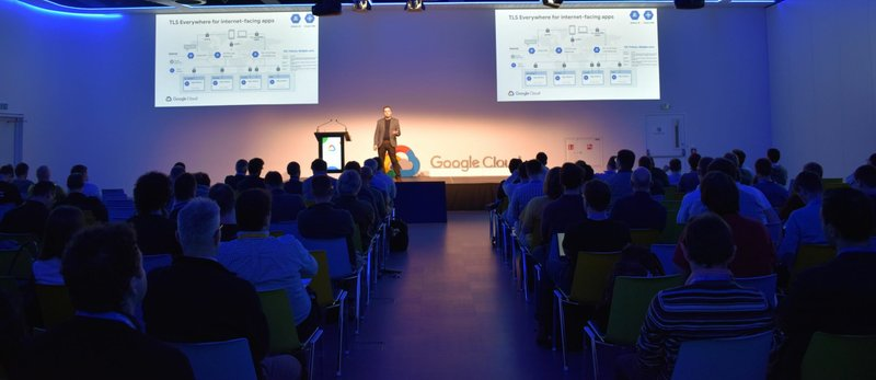 Aliter Technologies on Google Cloud Day Prague