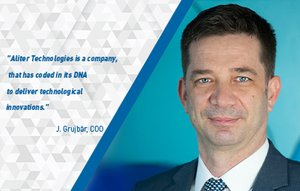 Aliter Technologies has a new Chief Operating Officer responsible for project implementation, Ján Grujbár