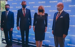 A unique system oversees the security of the Globsec conference