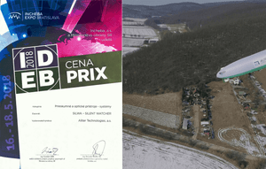 SILWA (Silent Watcher) awarded the Prix IDEB 2018