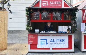 Aliter Technologies' charity on Christmas market