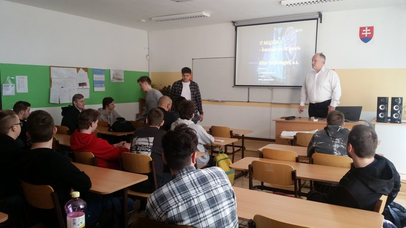 Aliter Technologies participated at the IT Academy project