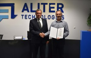 Aliter Technologies was recertified by the Defence Standardization, Codification and Government Quality Assurance Authority