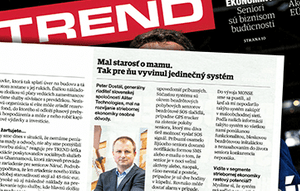The MONSE service (senior monitoring) presented in magazine TREND
