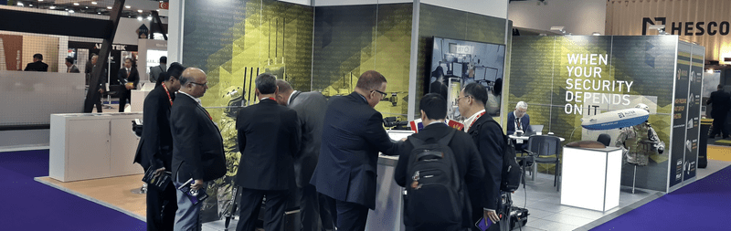 Aliter Technologies at DSEI in London